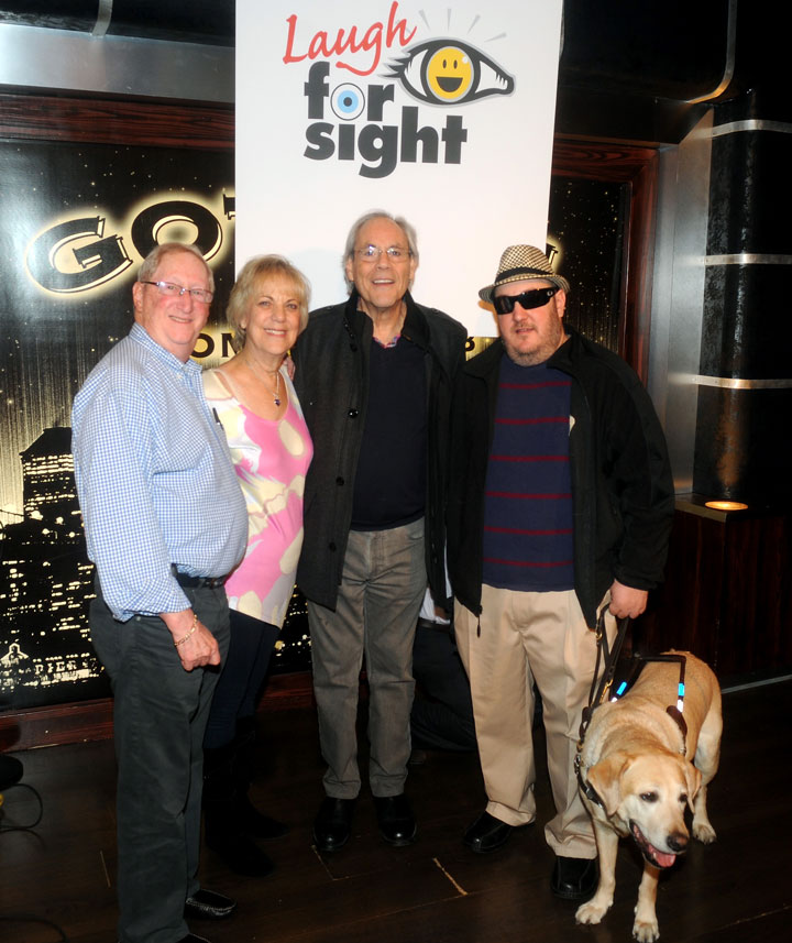 Robert Klein with Brian and his parents