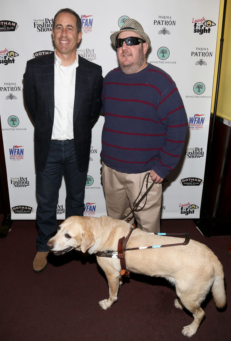 Brian and Jerry Seinfeld with Nash