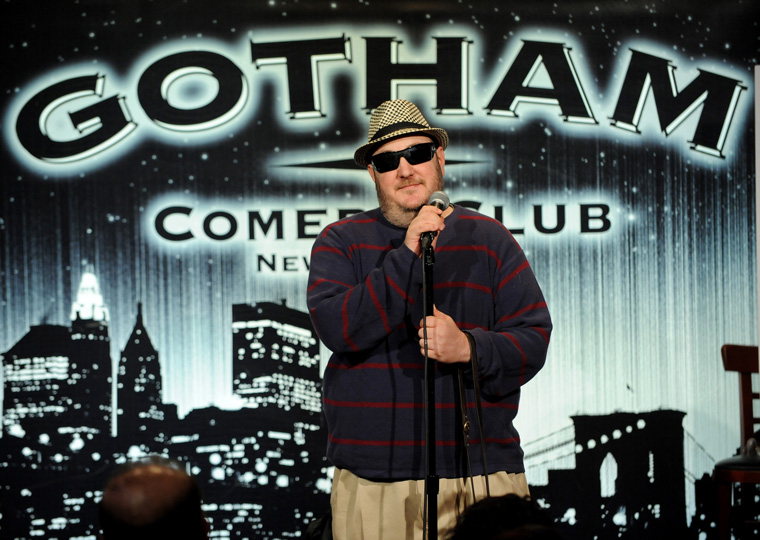 Brian On Stage At Gotham Comedy Club