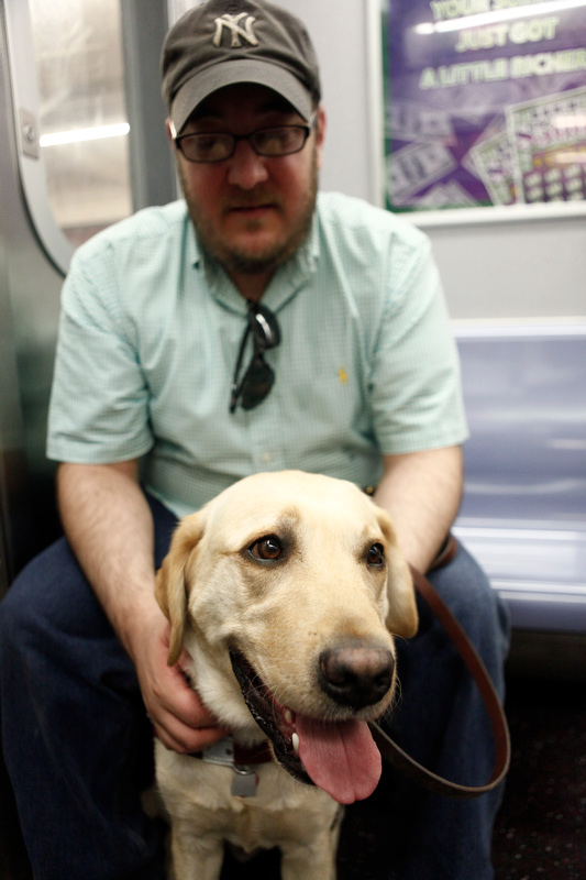 Brian On Subway With Nash