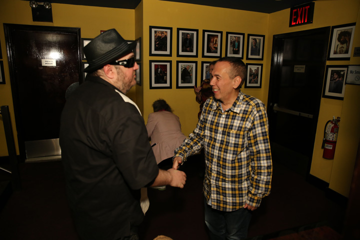 Shaking Hands with Gilbert Gottfried